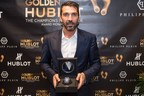 Gianluigi Buffon gana el 2016 Golden Foot Hublot Award