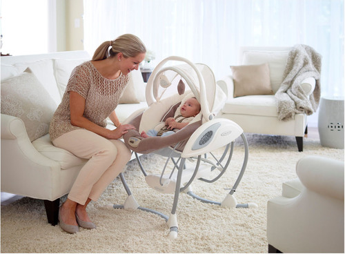 The Graco Glider family of swings aims to reinvent the swing category through the first introduction of the gliding motion into a baby swing. (PRNewsFoto/Graco) (PRNewsFoto/GRACO)