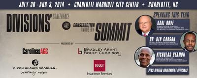 Carolinas AGC Construction Industry Summit (PRNewsFoto/Carolinas AGC)