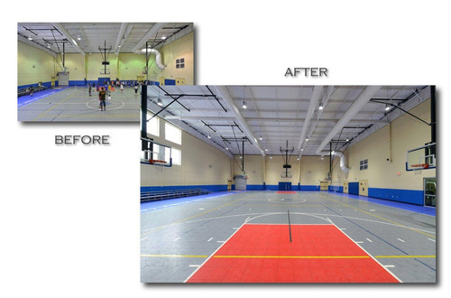 The Boys and Girls Club of Sarasota recently received a lighting upgrade from local lighting company Evolucia ...