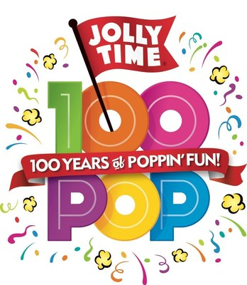 100 Years Young. JOLLY TIME Pop Corn Celebrates a Century of Family and Fun During National Popcorn Poppin' Month.