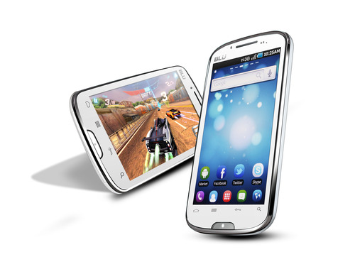 BLU Products Announces The Studio 5.3 - World's First Affordable 5.3' Smartphone Device at Mobile