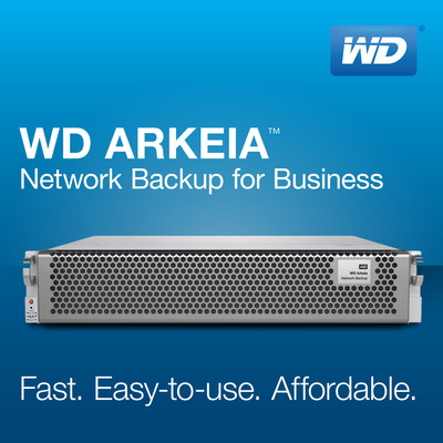WD(R) Launches Fourth Generation WD Arkeia(TM) Network Backup Appliances.  (PRNewsFoto/WD)