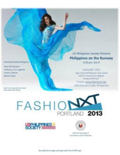 Top Philippine Fashion Designers Open Portland S 2013 Fashionxt October 9