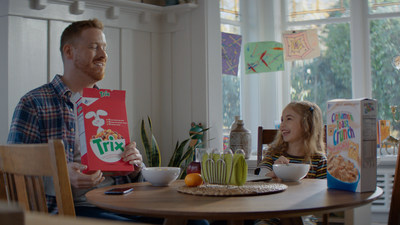 "To celebrate and build awareness surrounding the updated cereal recipes, General Mills Big G cereal is launching a national advertising campaign titled ""Again."""