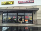 Joe Mamary outside his new Dickey's Barbecue Pit  in Wilkes-Barre. The new barbecue option opens Thursday with a three day grand opening.