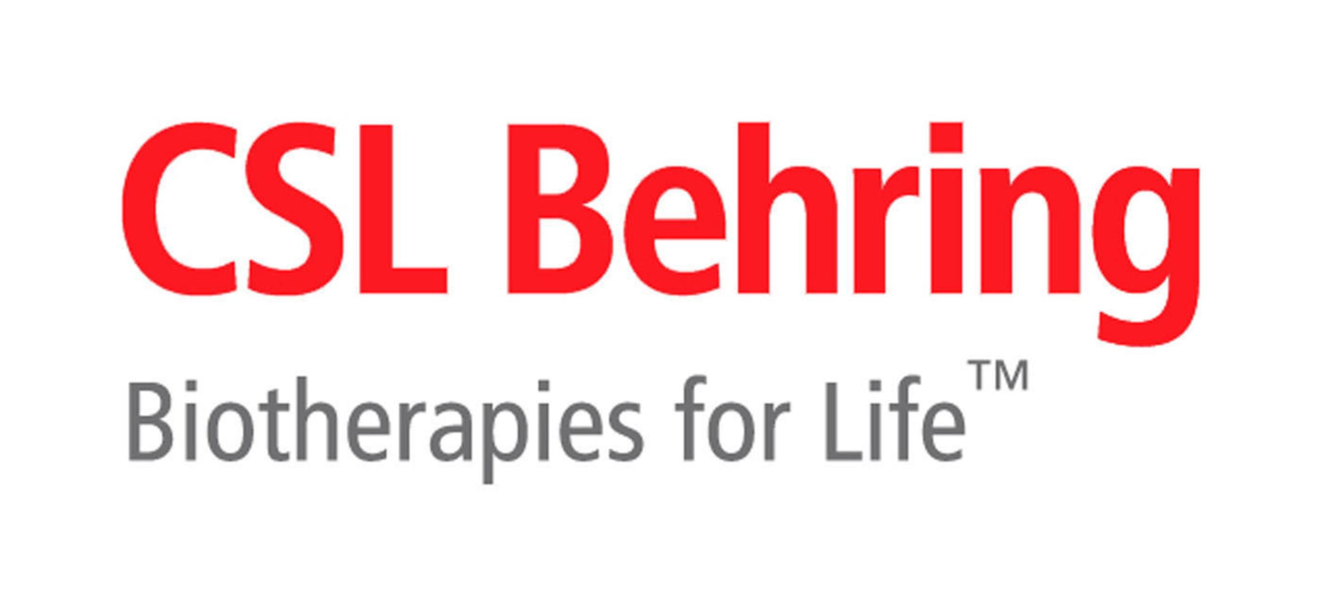 CSL Behring signe un accord de développement stratégique auprès d'Enable Injections afin de