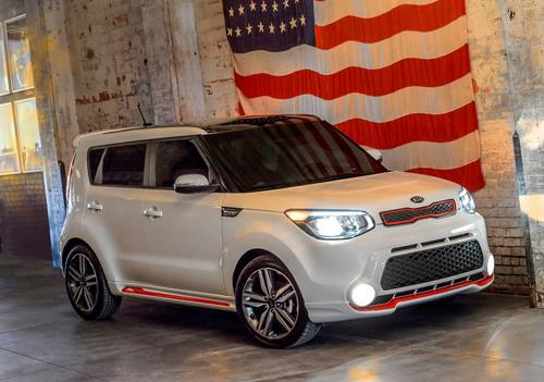 "Kia Motors America Releases 2014 ""Red Zone"" Special Edition Soul.  (PRNewsFoto/Kia Motors America)"
