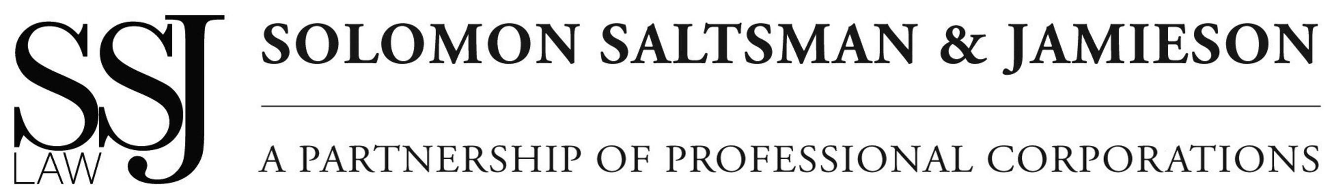 SSJ Law - Solomon Saltsman & Jamieson Logo