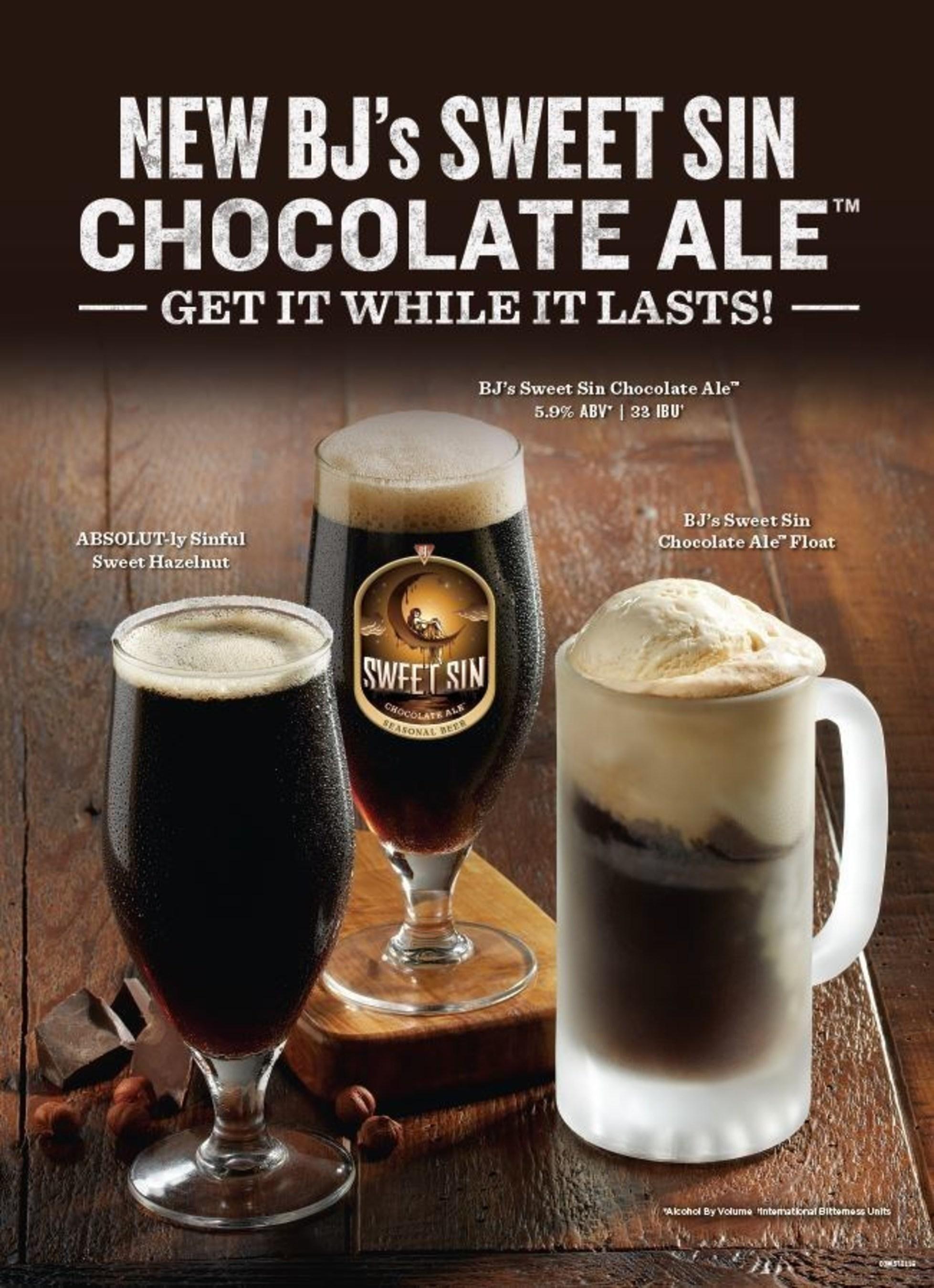 New BJ's Sweet Sin Chocolate Ale(TM)