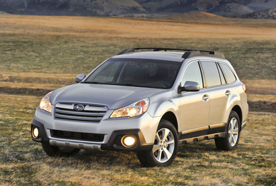Re-Styled 2013 Subaru Outback(R) to Debut at 2012 New York International Auto Show.  (PRNewsFoto/Subaru of America, Inc.)