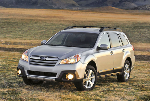 Re-Styled 2013 Subaru Outback(R) to Debut at 2012 New York International Auto Show.  (PRNewsFoto/Subaru of ...