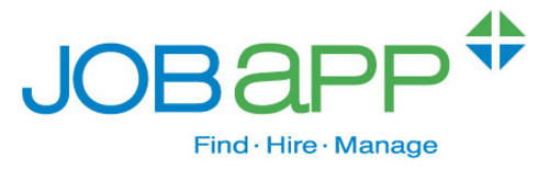 JobApp Company Logo.  (PRNewsFoto/JobApp Plus)
