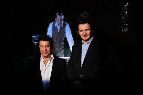 Jeff Wayne and Liam Neeson (PRNewsFoto/livenation.co.uk)