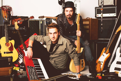 Big Time Rush's Kendall Schmidt Announces Side Project - Heffron Drive Live.  (PRNewsFoto/Big Machine Agency)