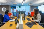 Inside Georgia Power's new Social Media Center in Atlanta. The center includes tools and technology to allow the company to respond to most customer inquiries on social media within 10 minutes and online chat requests in under a minute.