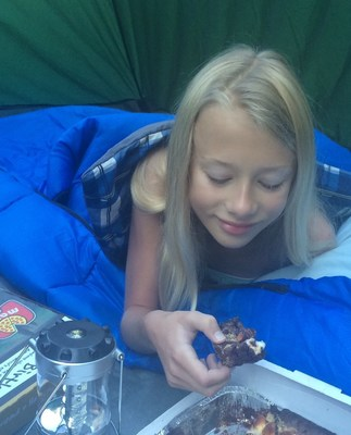 Marco's Pizza is celebrating National S'mores Day, Aug 10, by donating $1 to youth camping organizations for every S'mores Brownie sold.