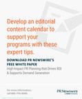 PR Newswire White Paper Discusses the Importance of Implementing a PR Plan to Drive ROI