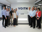 Employees in Voith's new Houston Headquarters for the Power, Oil & Gas Division.