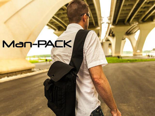 Get your Man-PACK on! www.Man-PACK.com.  (PRNewsFoto/Man-PACK)