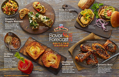 McCormick Grill Mates 2015 Flavor Forecast: GRILLING EDITION
