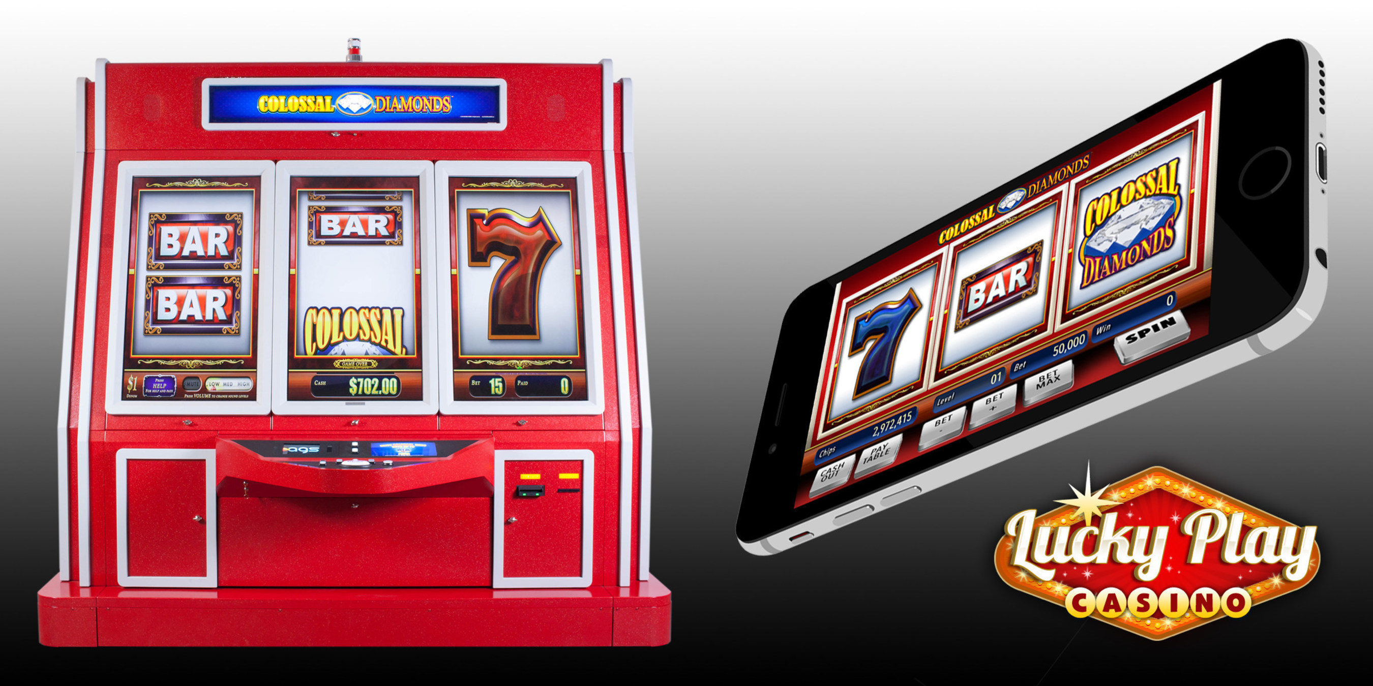 AGS Receives Approval for its High-Performing Colossal Diamonds(R) Slot Game in Nevada