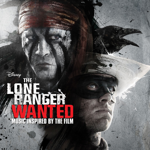 LONE RANGER: WANTED COVER.  (PRNewsFoto/Walt Disney Records)