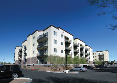 Transwestern brokered the sale of Dorsey Place, an 84-unit, condominium-style apartment building on East University Drive in Tempe, Ariz., for nearly $15 million. San Diego, Calif.-based Stratford Partners and Pathfinder Partners, which had purchased the building in 2011, sold the building to a joint venture between Diversified International Partners and Alliance Residential of Phoenix. Diversified International Partners is a fund specifically created for Latin American institutional and qualified high-net worth investors by its general partner, Finesa Real Estate Group, and its fund manager, Transwestern Investment Management. Transwestern's Jack Hannum, Bret Zinn and John Drowns represented the sellers.  (PRNewsFoto/Transwestern)
