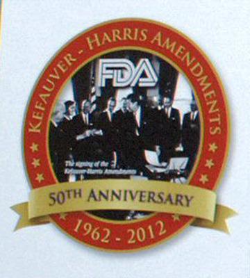 50th Anniversary.  (PRNewsFoto/Food and Drug Administration Alumni Association)