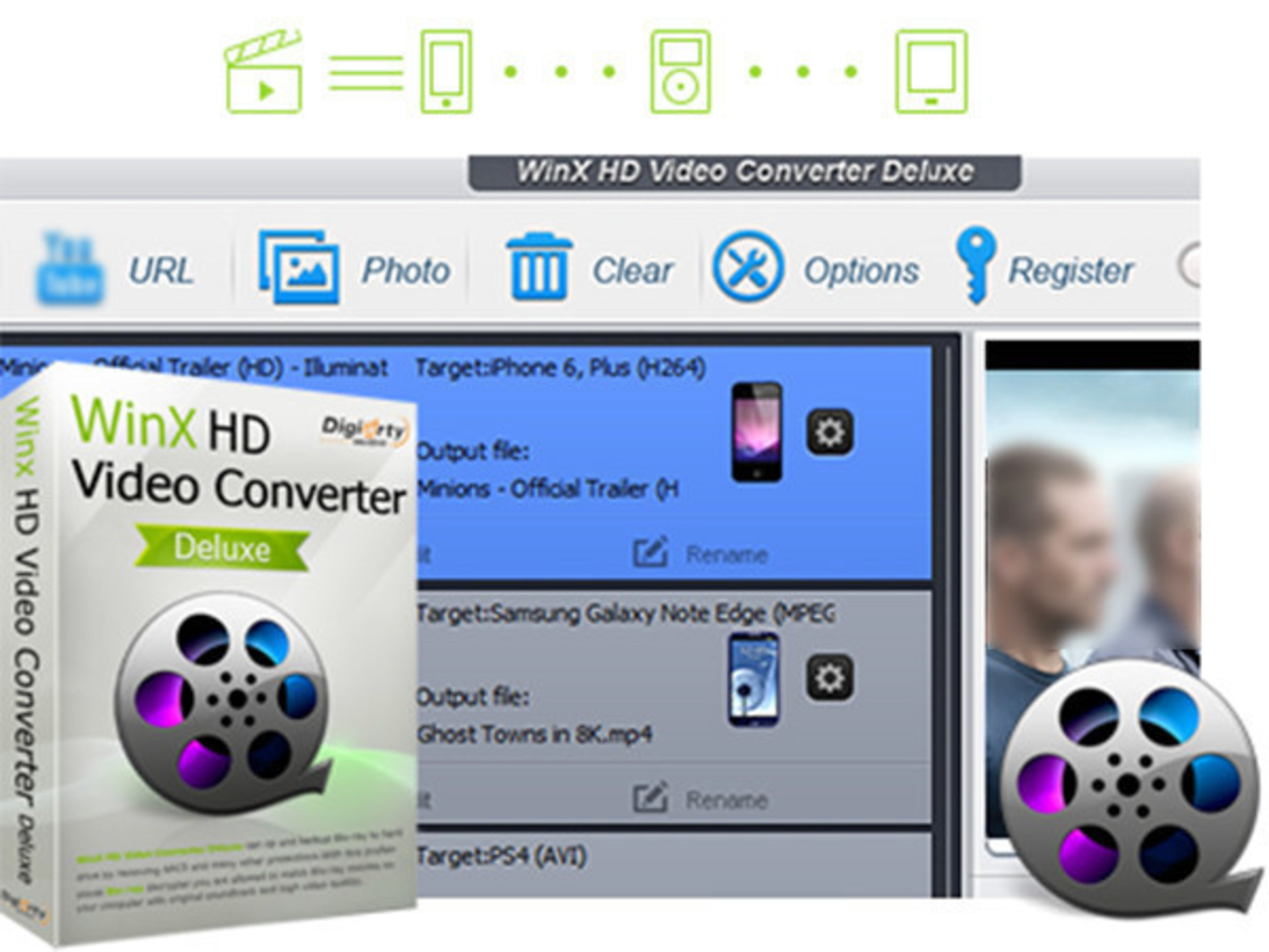 Digiarty Applies Hardware Acceleration Technology to WinX HD Video Converter and Gives It away as