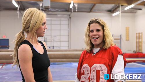 "Brittany Snow and Cierra Solis star in ""Marcy,"" an original comedy Web series produced by Lockerz.(PRNewsFoto/Lockerz)"