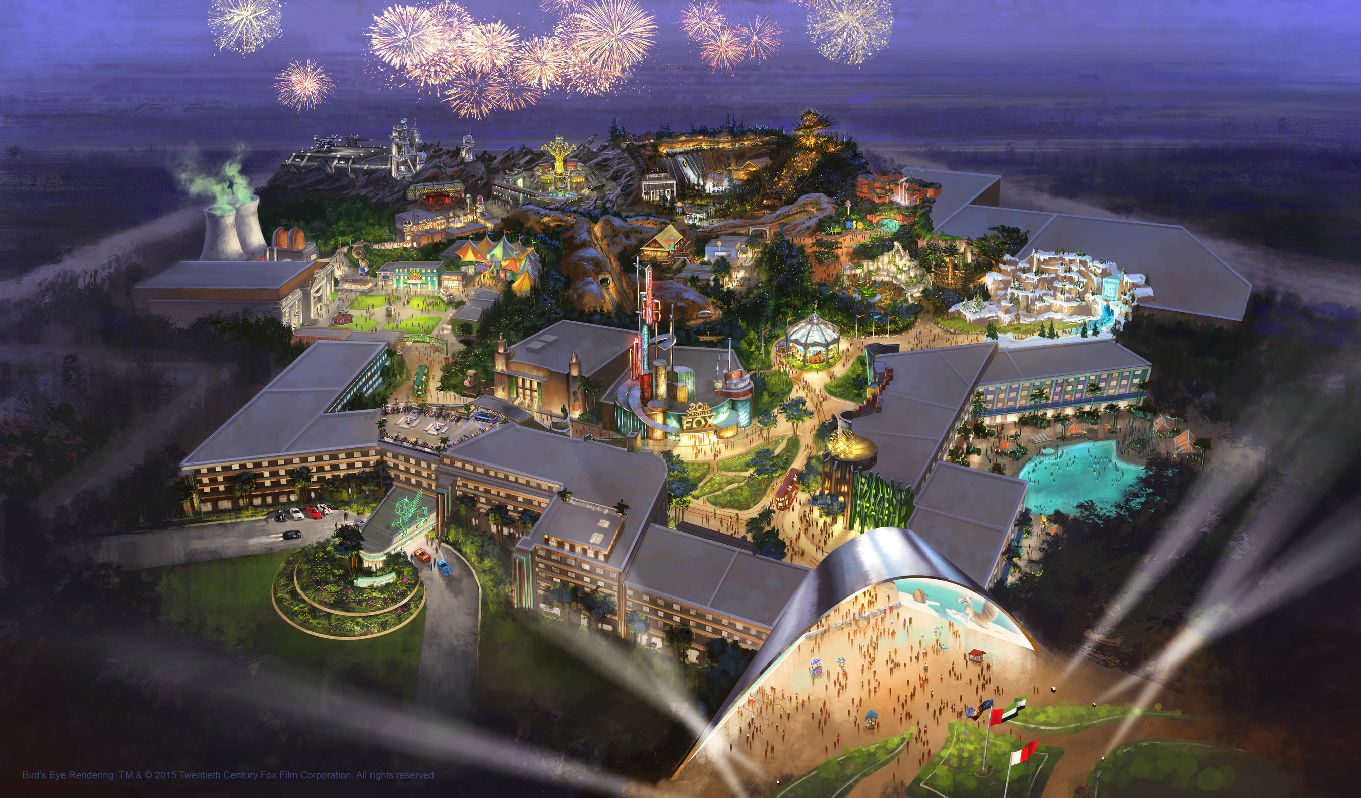 Al Ahli Holding Group Partners With Twentieth Century Fox Consumer Products To Open Fox World Theme Park And Resort In Dubai