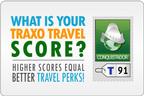 Traxo Travel Score.  (PRNewsFoto/Traxo)