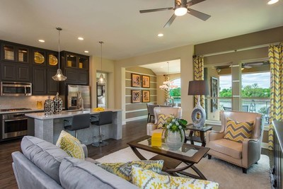 Taylor Morrison, a leading national homebuilder and developer, continues to expand on its successful 55 community offerings with the debut of its first 55 community in Austin, Heritage at Vizcaya, on May 30.