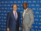 AIA Group Chairman Shawn Baldwin (right) joins Michael Milken at the annual Milken Institute Global Conference April 26-29 in Los Angeles.