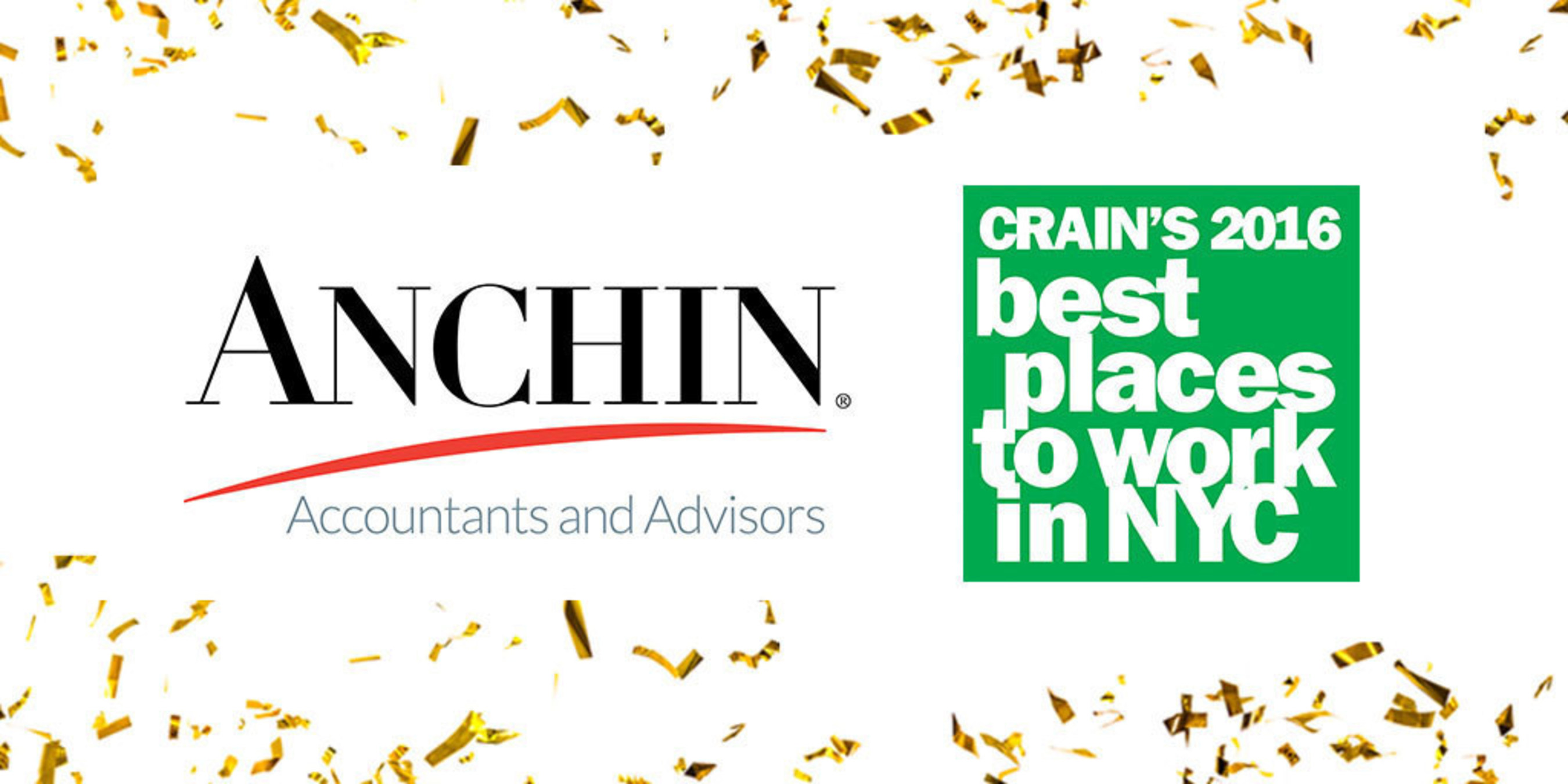 Anchin Block & Anchin LLP Best Places to Work in NYC 2016