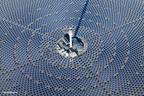 SolarReserve's 110 MW Crescent Dunes Solar Energy Plant located near Tonopah, Nevada. (PRNewsFoto/SolarReserve)