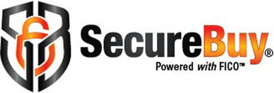 SecureBuy powered with FICO.  (PRNewsFoto/SecureBuy)