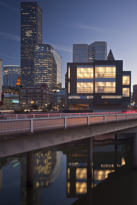 Houston Ballet's new Center for Dance, designed by Gensler, creates a new gateway to downtown Houston's Theater District.
