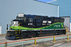 Norfolk Southern's Congestion Mitigation and Air Quality (CMAQ) locomotive