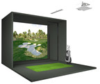 Full Swing Golf S8 Indoor Simulator featured at Drummond Golf retail locations.