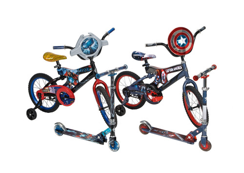Huffy® Enters Strategic Relationship with Marvel Entertainment for Upcoming Movies and Classic