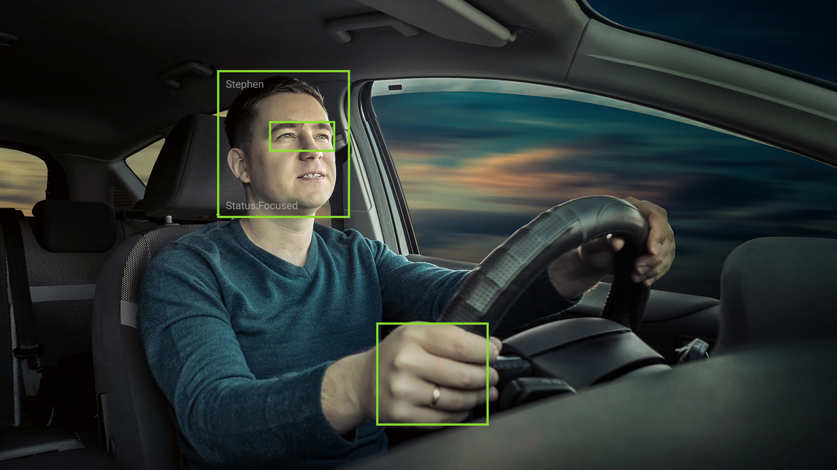 Combining computer vision, machine learning and sensor fusion, Caruma's system improves driver safety by monitoring specific details about the driver to detect fatigue, attentiveness and driver distraction. The system senses and alerts drivers in real-time to external dangers or distractions to help avoid collisions.
