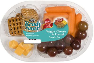 Ready Pac Ready Snax.  (PRNewsFoto/Ready Pac Foods, Inc.)