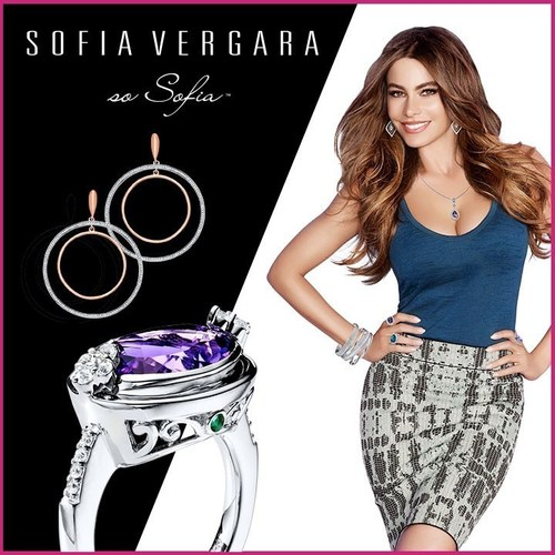 Actress Sofia Vergara Partners With Kay Jewelers To Launch A Jewelry Collection That Is So Sofia