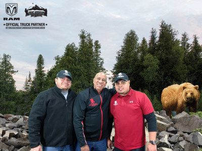 Wounded veterans and family attend the world's largest outdoor show.