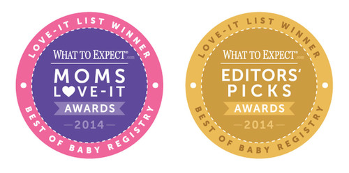 WhatToExpect.com Awards the Best Baby Registry Products.  (PRNewsFoto/Everyday Health, Inc.)