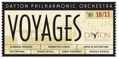 Dayton Philharmonic Orchestra continues its successful 2010-2011 Voyages Season with an Italian-style New Year's Eve celebration.  (PRNewsFoto/Dayton Philharmonic Orchestra)