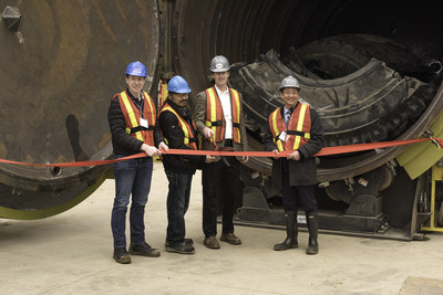 Titan Tire Reclamation Celebrates its Grand Opening
