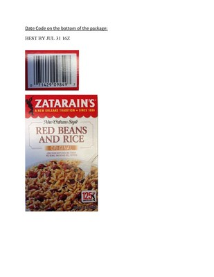 Zatarain's Red Beans and Rice Original